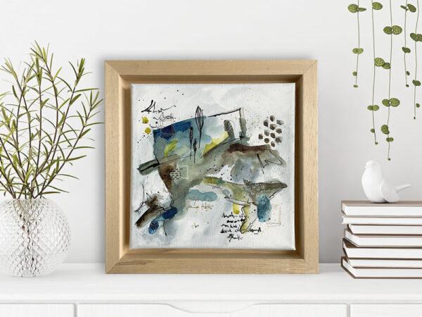 Acrylic on canvas 20 x 20 cm
