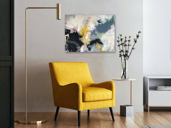 Acrylic on canvas 60 x 80 cm