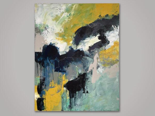 Acrylic on canvas 80 x 100 cm