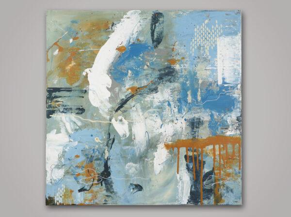 Acrylic on canvas 50 x 50 cm