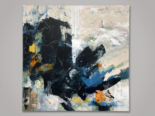 Acrylic on canvas 120 x 120 cm