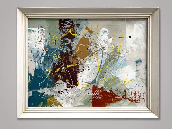 Acrylic on canvas 45 x 35 cm