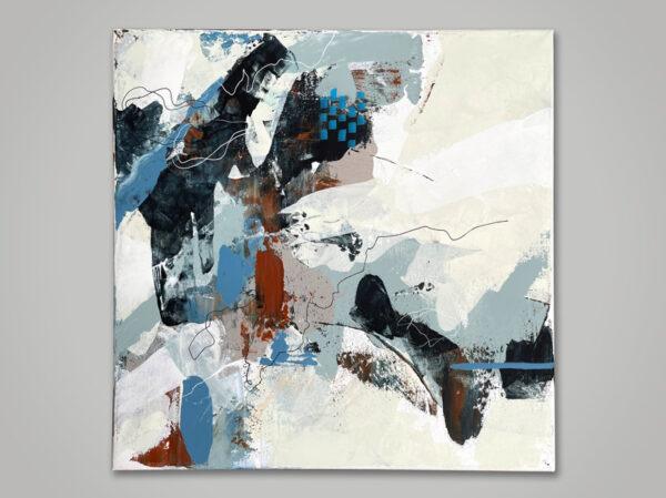 Acrylic on canvas 40 x 40 cm