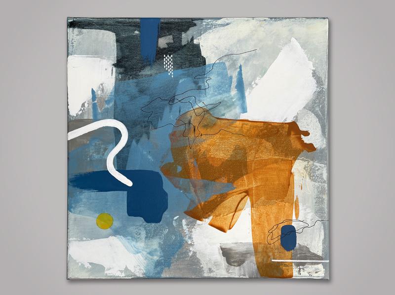 Massina abstract mixed media